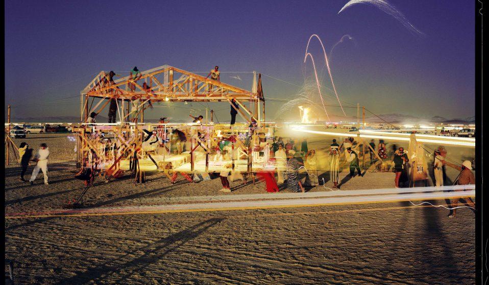 Desert House, photograph and structure by William Binzen