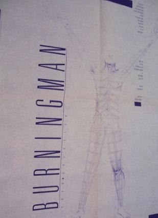 1988 Poster for Burning Man
