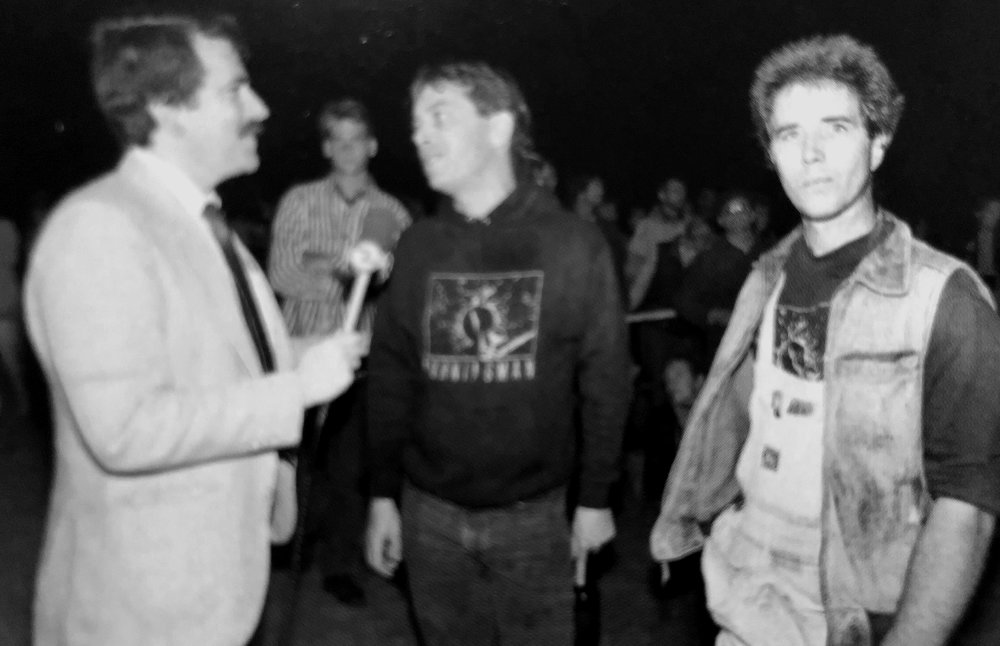 Jerry & Larry, First TV Coverage, 1989