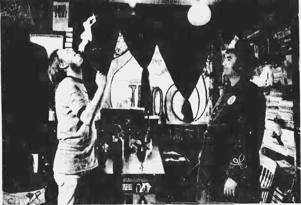 Gary Warne and David T. Warren
