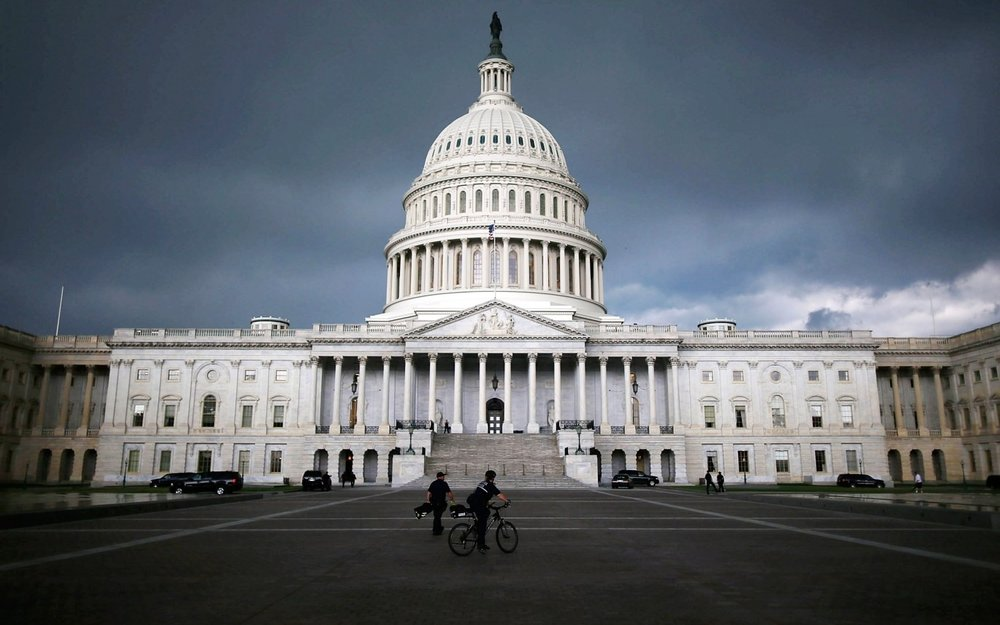 Capitol Hill in Washington, DC. Mark Wilson/Getty Images