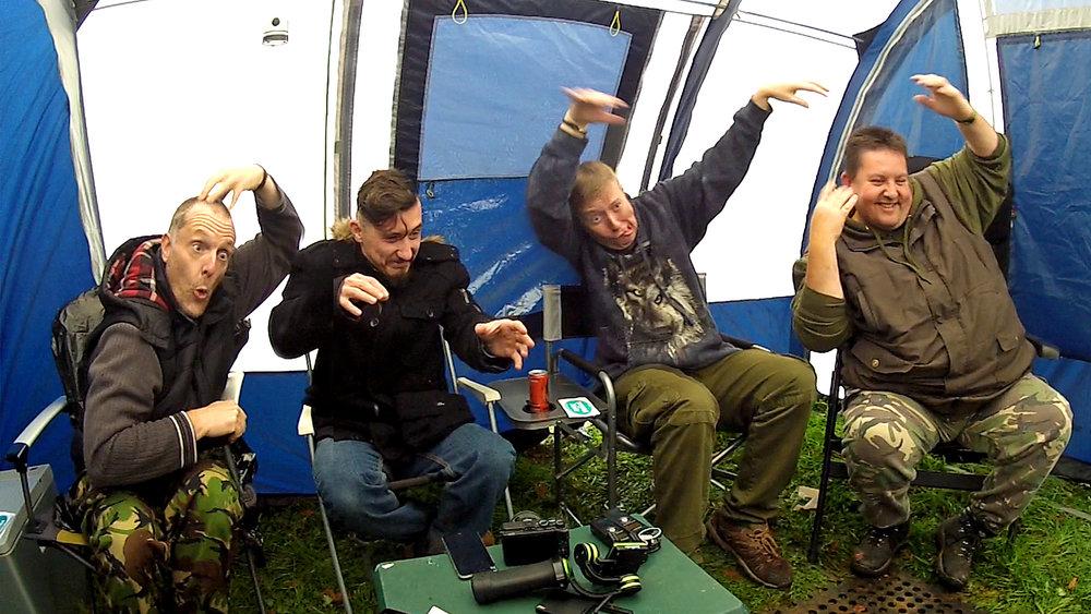4 YouTubers go camping nov 2017.jpg