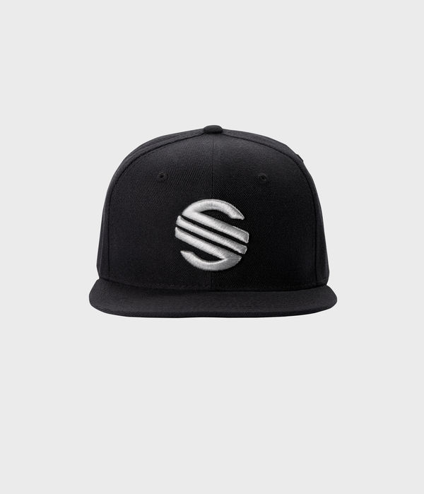 Hat  Snapback Style [BLACK w SILVER Logo Version / BLACK w BLACK Logo Version]  ₩25,000 KRW