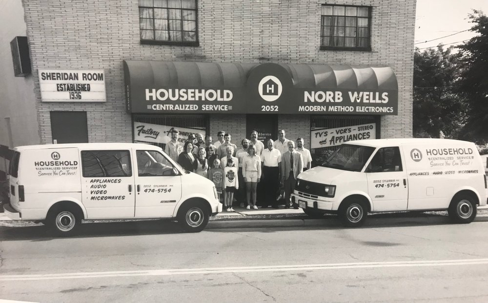 Household Centralized Service, 1991.