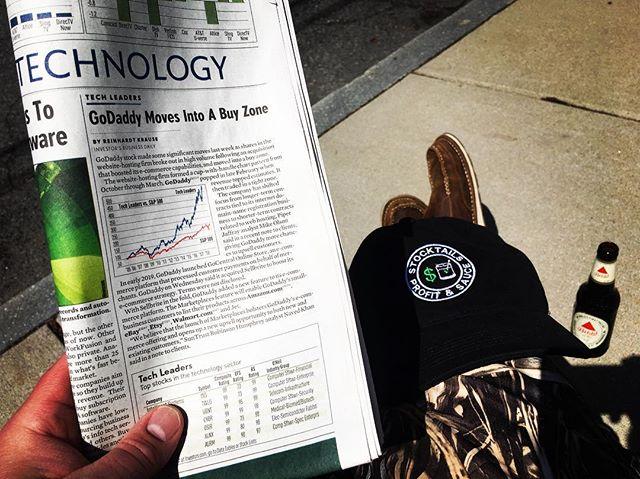 GoDaddy Moves Into A Buy Zone (IBD April 15) #stocktails #beacraftyinvestor