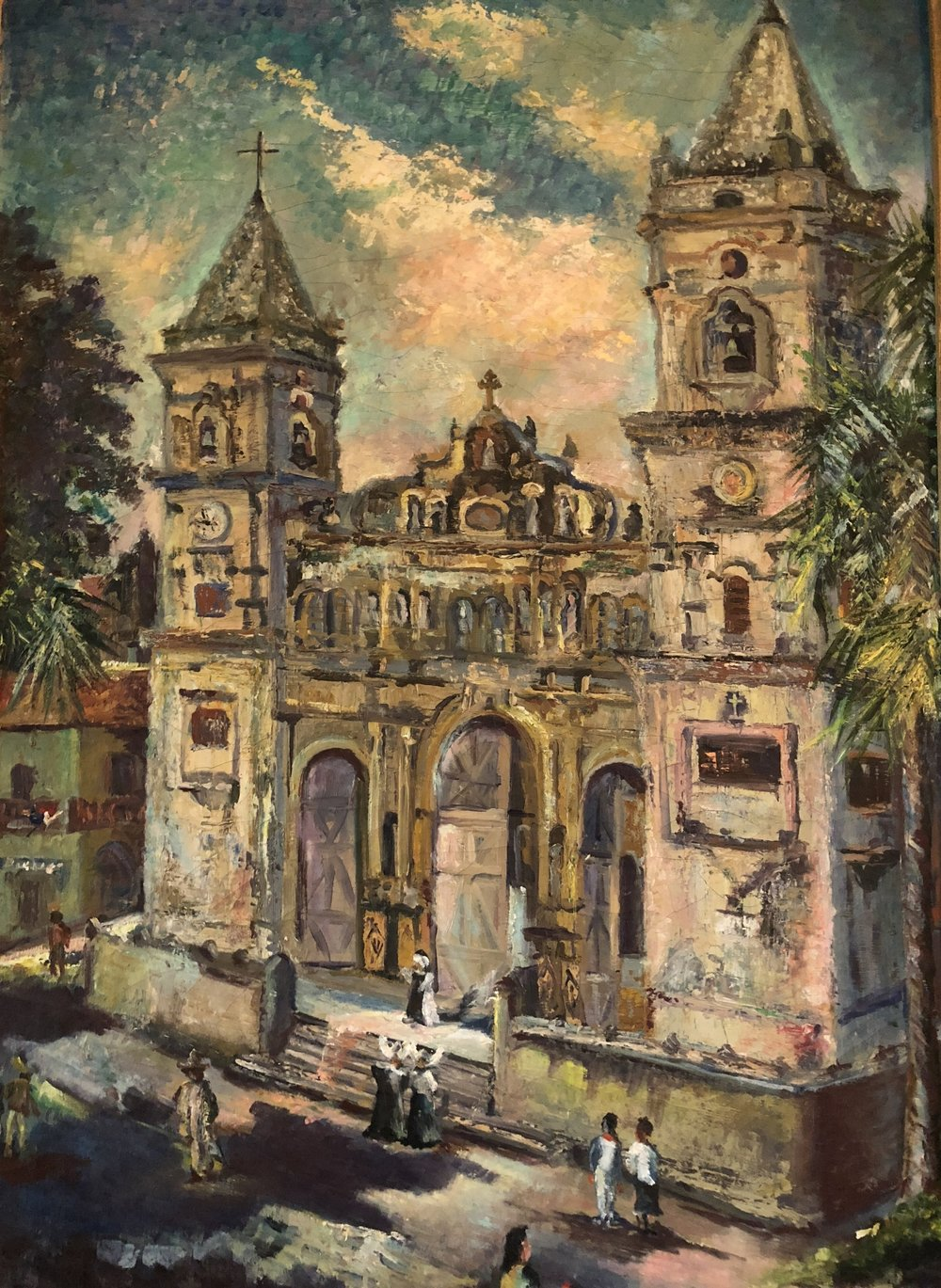 Catedral de Panamá   Author: Rosamund Gaydashe Year: 1950