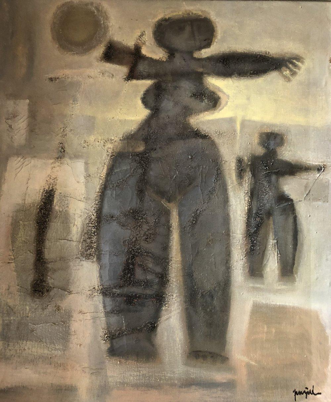 Bajo La Luna   Author: Guillermo Trujillo Year: date unknown