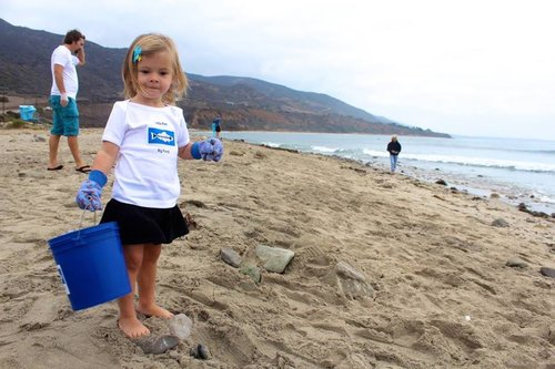Heal the baybeach cleanup - On the third Saturday of every month from 10AM to 12 PM parents and children ages 5+ meet at various beaches around LA County for a