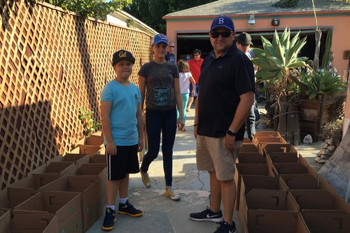 ONE ON ONE OUTREACH FOOD PANTRY - On the last Sunday of every month, families with children ages 7+ prepare and fill 170 boxes with food and supplies then hand deliver the boxes to local families who rely on these goods.Located a short drive from West Los Angeles, Santa Monica, Pacific Palisades and Beverly HillsContact:Michael Schwartzmichael@oneononeoutreach.org (310) 890-4749