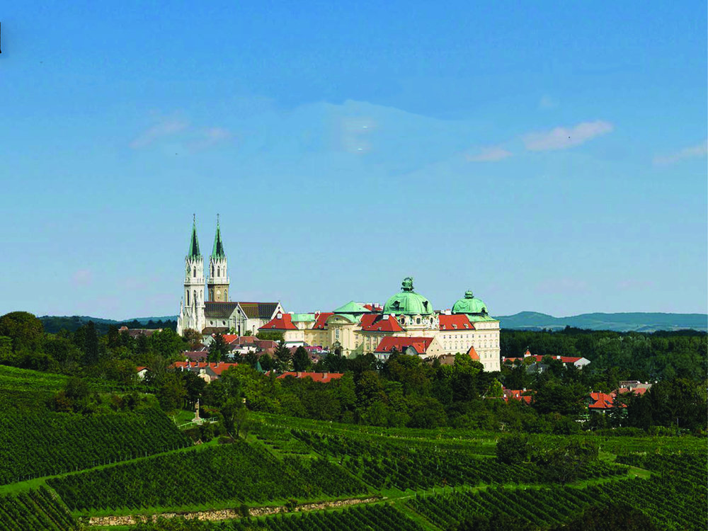 The Monastery of Stift-Klosterneuberg, home of Austria's wine heritage and seat of the nation's Supreme Court.