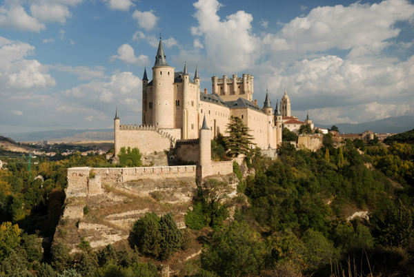 The Alcazar de Segovia (12th c.)