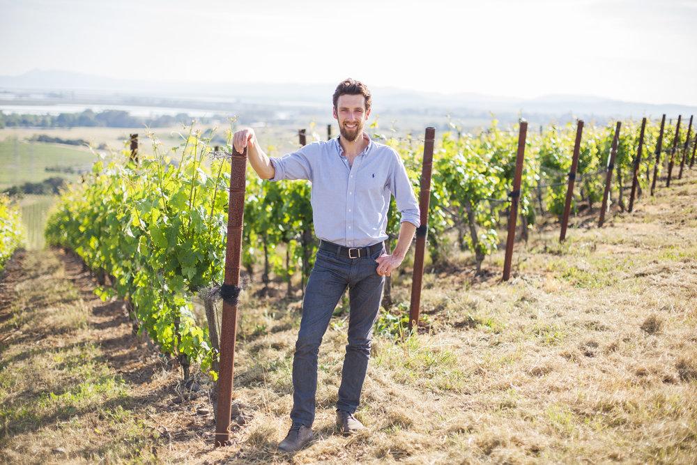 Alex Remy, winemaker