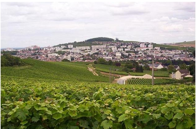 "Epernay, ""capital"" of the Champagne world"
