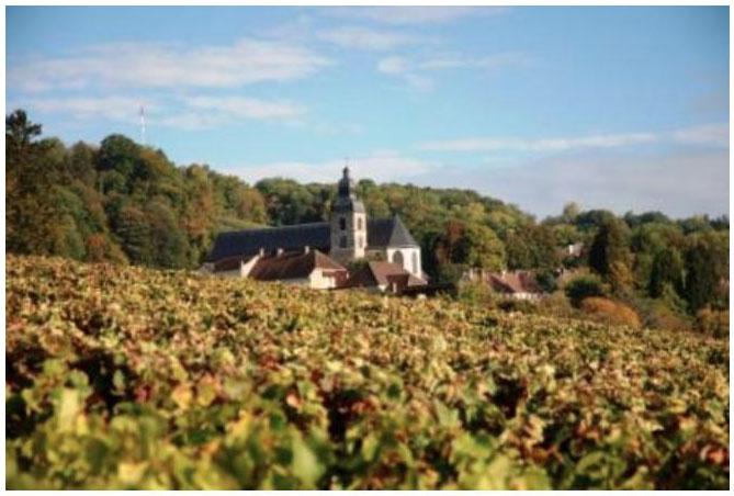 The Abbey of Hautvillers- home of Dom Perignon