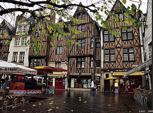 The medieval center of Tours - copyright LUIS FELICIANO
