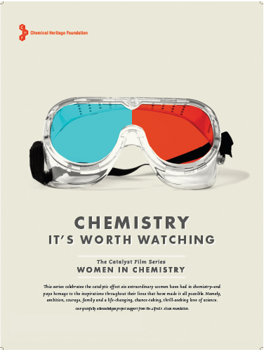 """WOMEN IN CHEMISTRY"" - Premiered on PBS. DVD available at the Science History Institute."