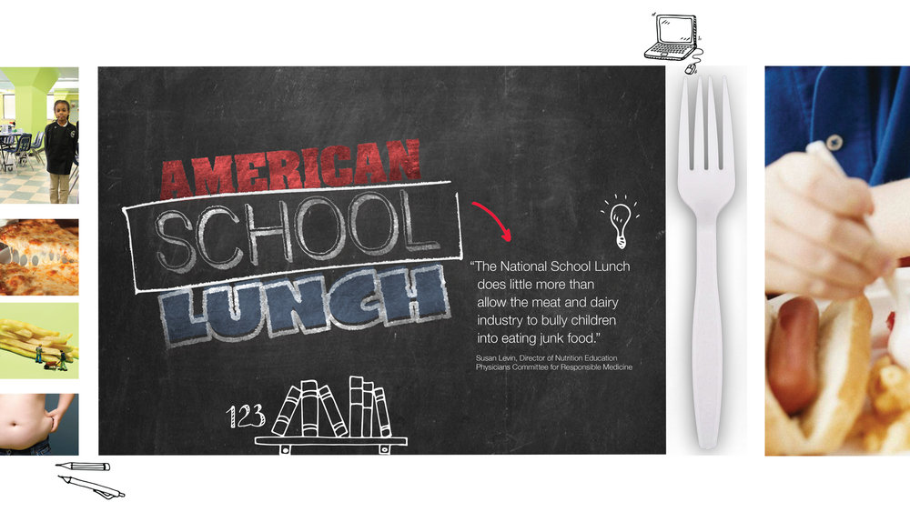 """AMERICAN SCHOOL LUNCH"" - The national school lunch program is failing our children -- meet the communities and activists providing fresh, appealing and healthy meals for kids"