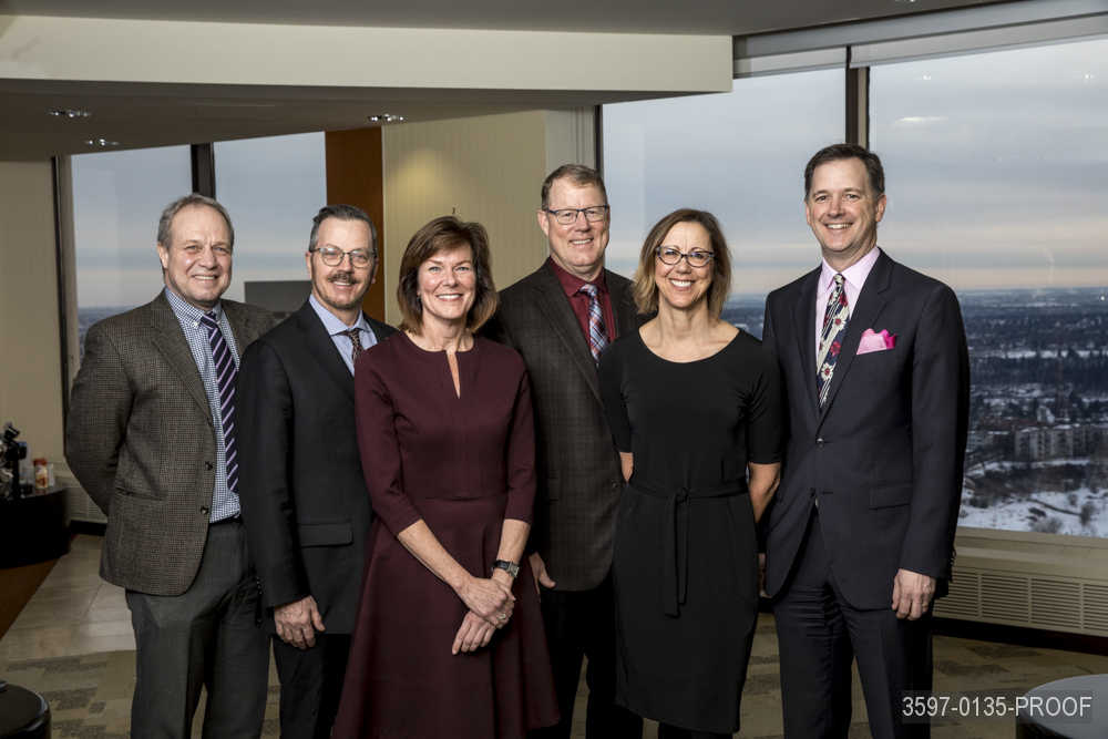 Dr. Scott McLeod & the CPSA Leadership Team.  Left to right: Dr. Jeremy Beach, Mr. David Kay, Dr. Susan Ulan, Dr. Scott McLeod (Registrar), Dr. Karen Mazurek (Deputy Registrar), Dr. Michael Caffaro.  See the CPSA Organizational Chart.