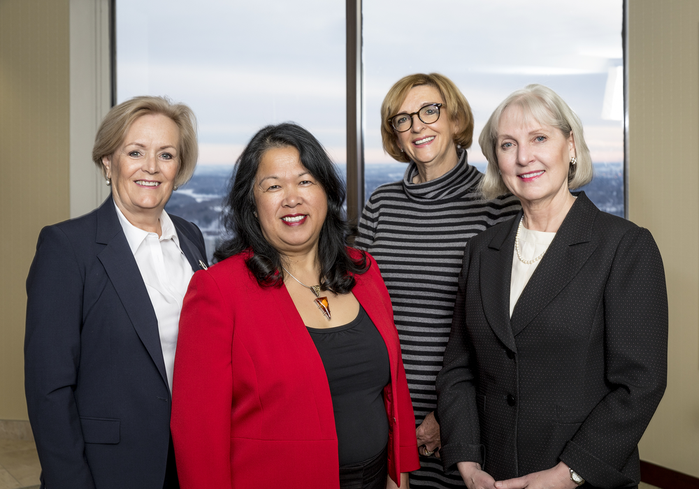 Left to right: Ms. Cathy MacDonald, Ms. Levonne Louie (Nov-Dec), Ms. Margaret Munsch, Ms. Kate Wood (Council President) | Missing: Ms. Janet Blayone (Jan-Oct)