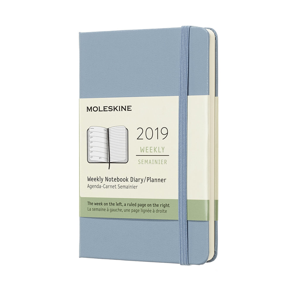 Moleskine - If you haven't heard of Moleskine, you've probably been living under a rock, but I felt obligated to include it because their weekly planner was overwhelmingly the most popular choice. Although they can get a little pricy ($17-$25), their ability to