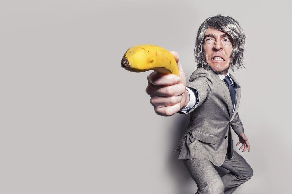 Angry Banana Man
