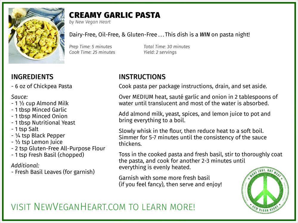 CreamyGarlicPasta_RecipeCard