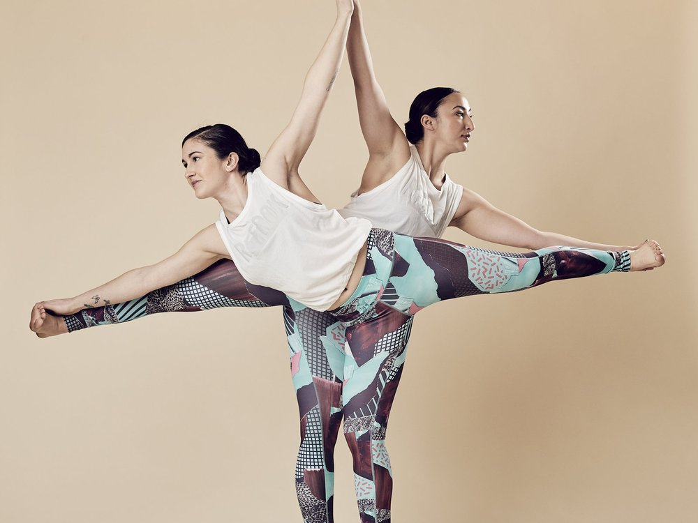 Majesta & Armelia   SEAPORT/SOUTH END - CorePower Yoga Ink Block