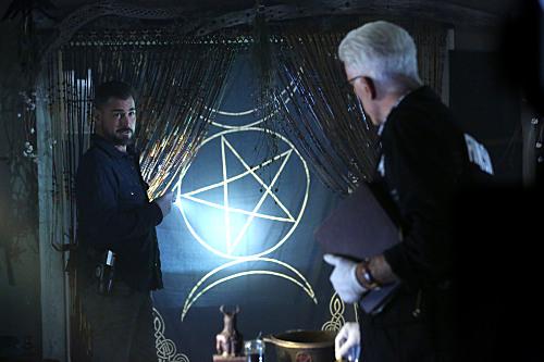 CSI: The Book of Shadows [Courtesy: CBS Television]
