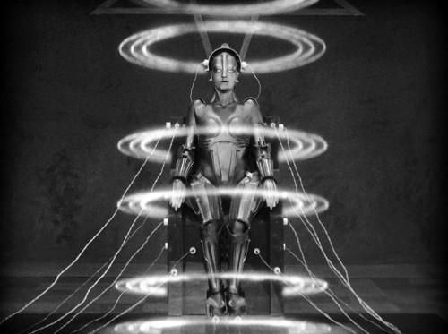 "Still from Fritz Lang's ""Metropolis"""