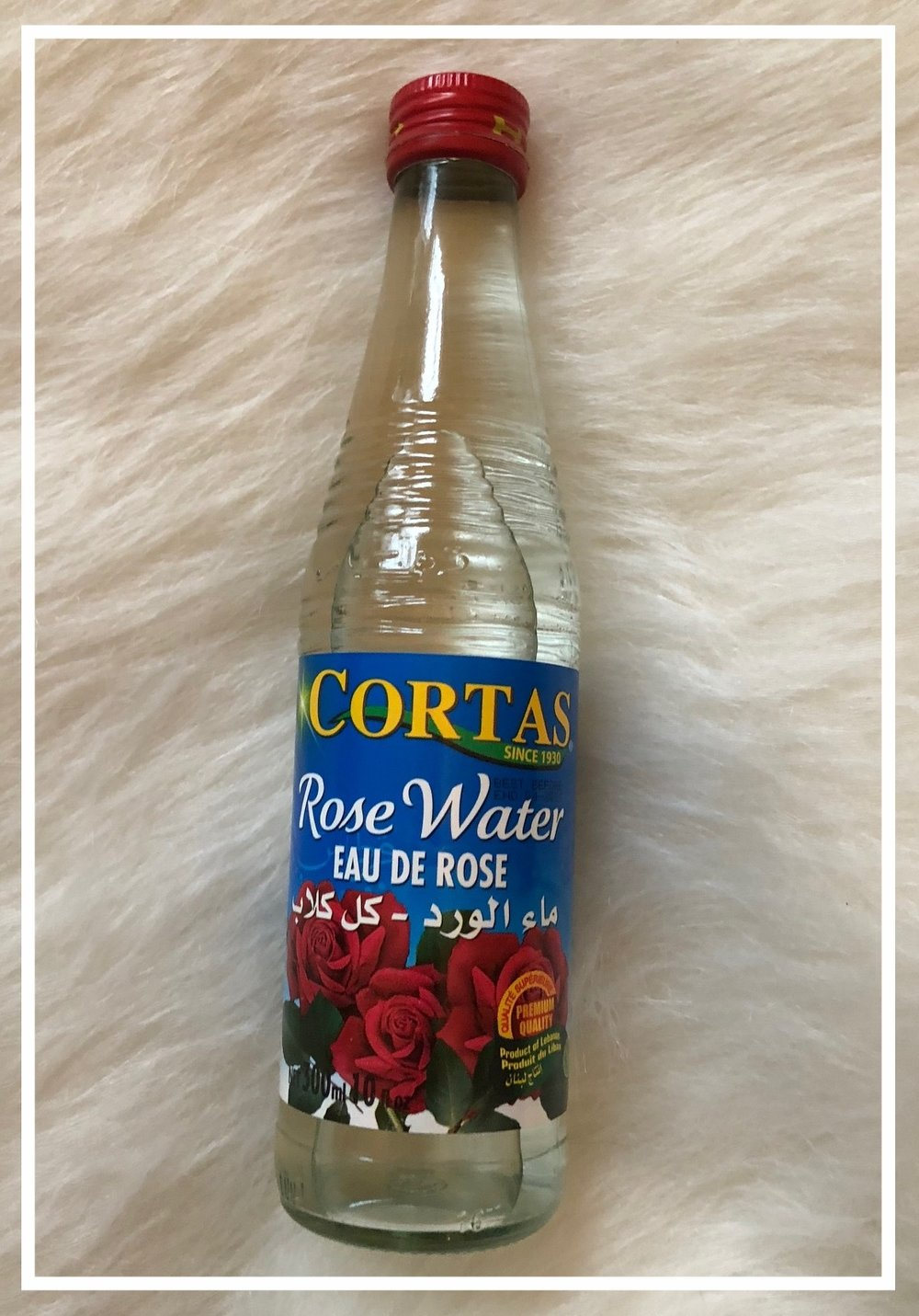 Rose Water TONER FOR SOFT Skin Routine - After double cleansing, and toning, apply the Rose Water to a cotton ball and sweep across you face, neck, and chest. The smell is like angel wings and your skin will feel like fluffy clouds.