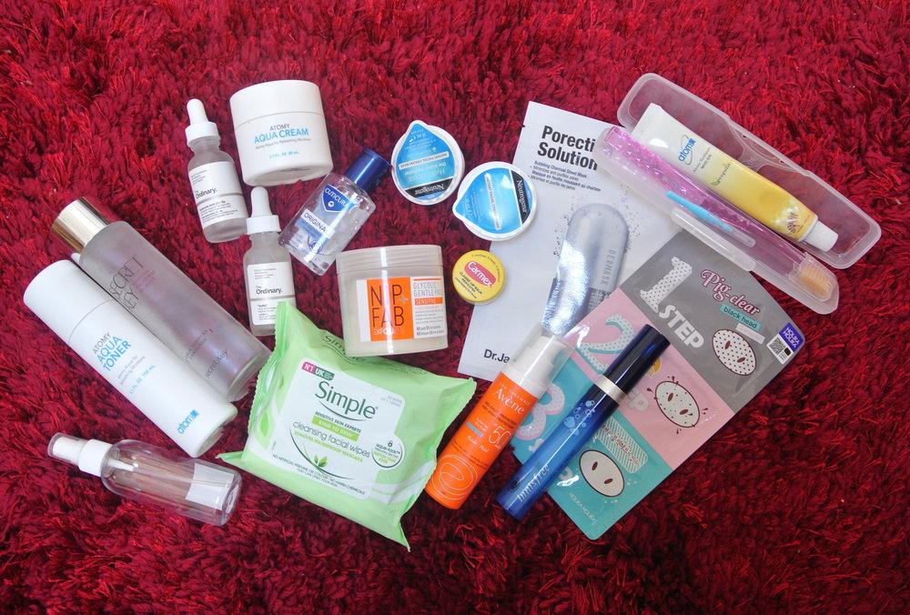 Travel Skincare Essentials
