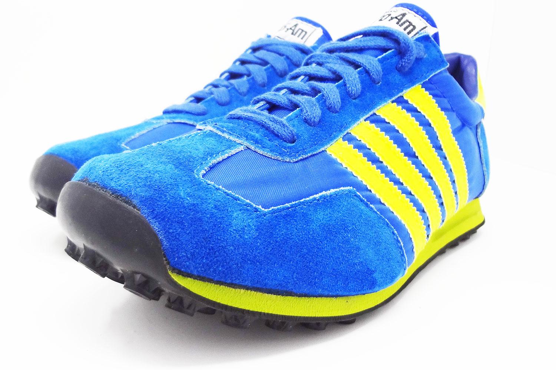 94398df3e0ee Old school 1980s LaCrosse Pro-Am Adidas Formel 1 style vintage sneakers    The Freakin