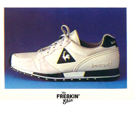 Le Coq Sportif Turbotec vintage sneaker ad