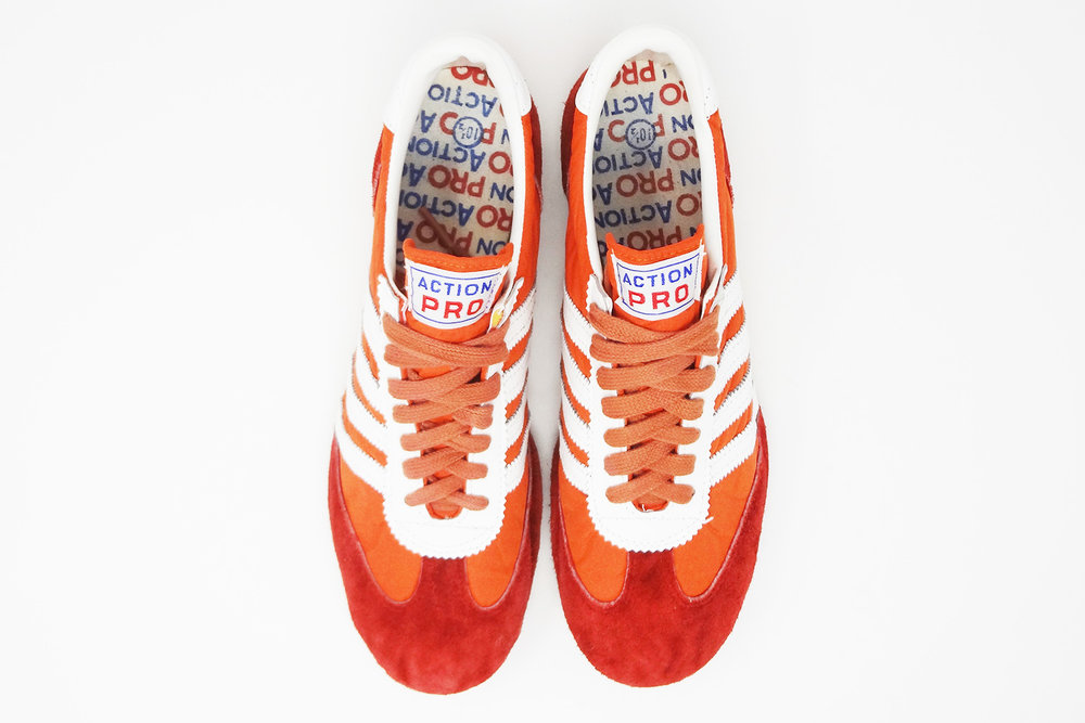 4 Red The Pro Sneaker Stripe Vintage EkinA Blog— Freakin' Action QChrsdt