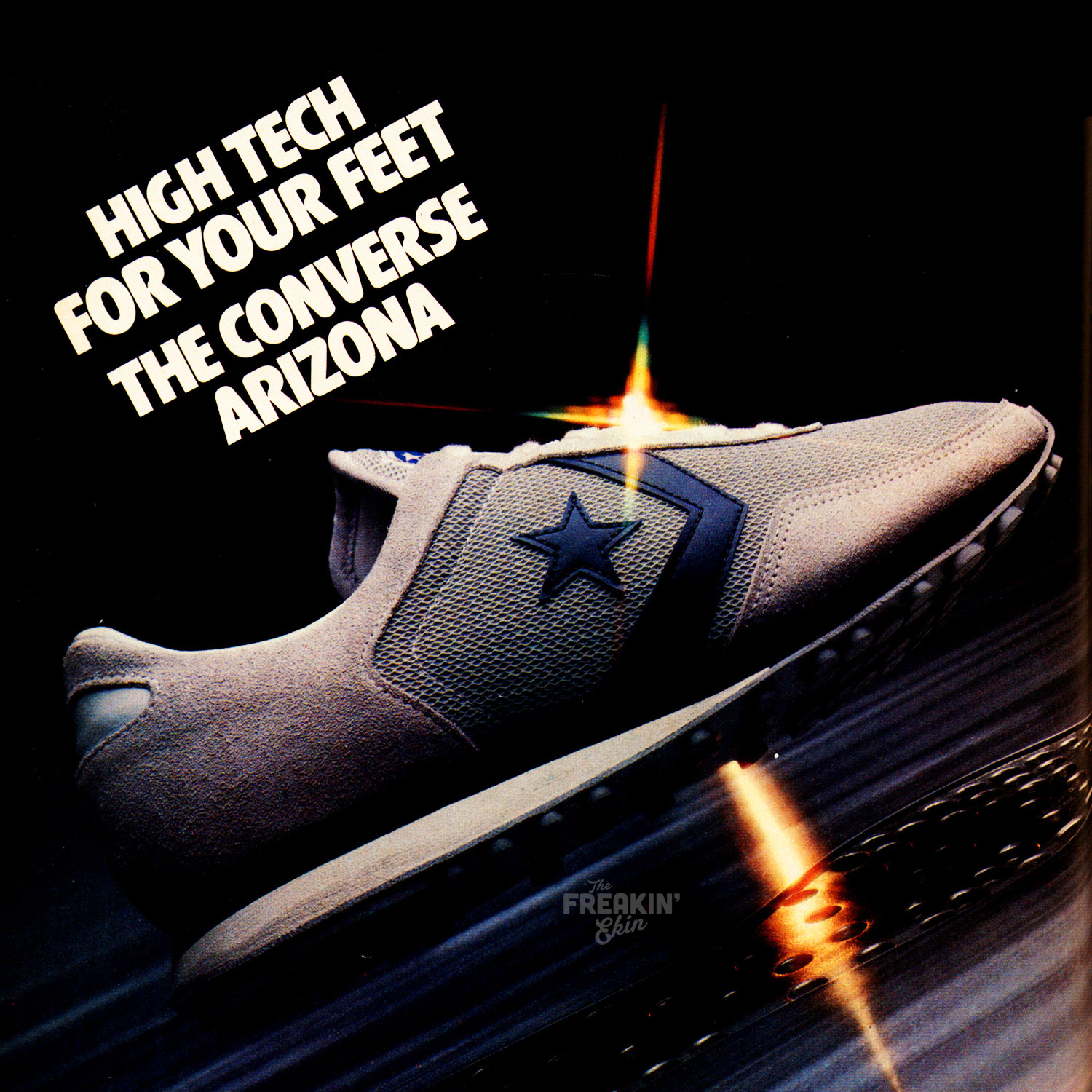 imponer Tahití parrilla  The Deffest®. A vintage and retro sneaker blog. — Converse Arizona 1980  vintage sneaker ad