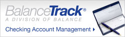balance track: a division of balance checking account management