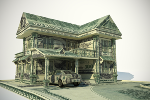 home made of money