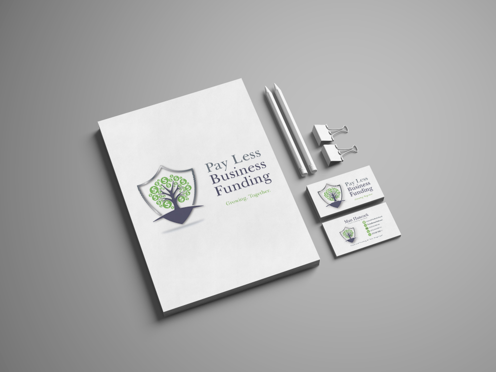 Pay Less Business Funding Logo