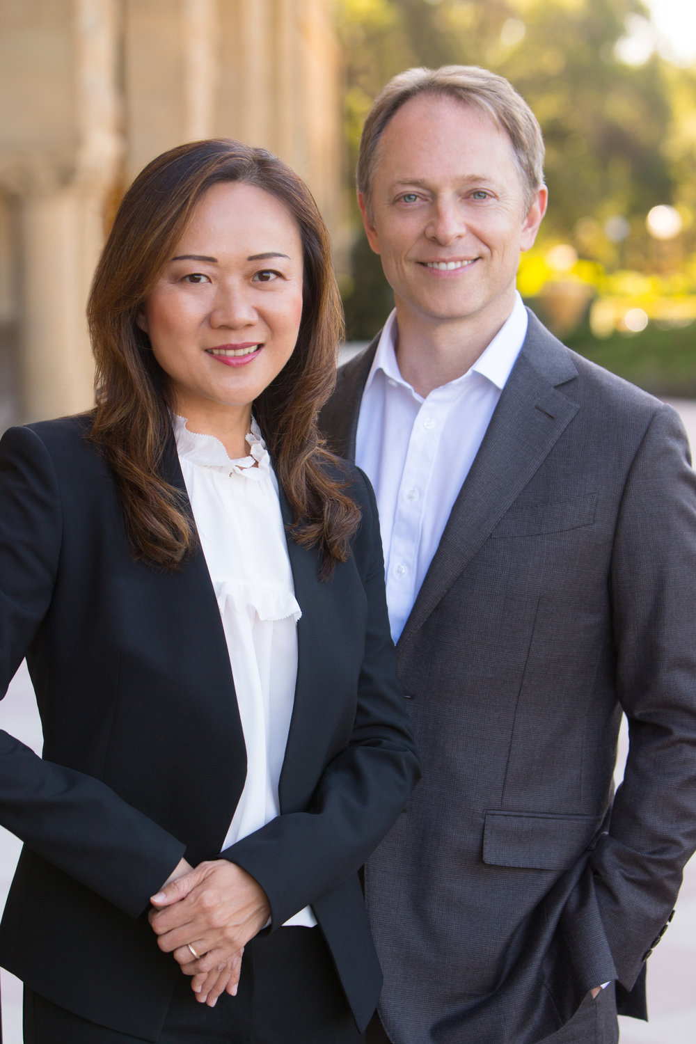 - John and Gloria Young can help you buy, sell, or build the perfect luxury home in Palo Alto