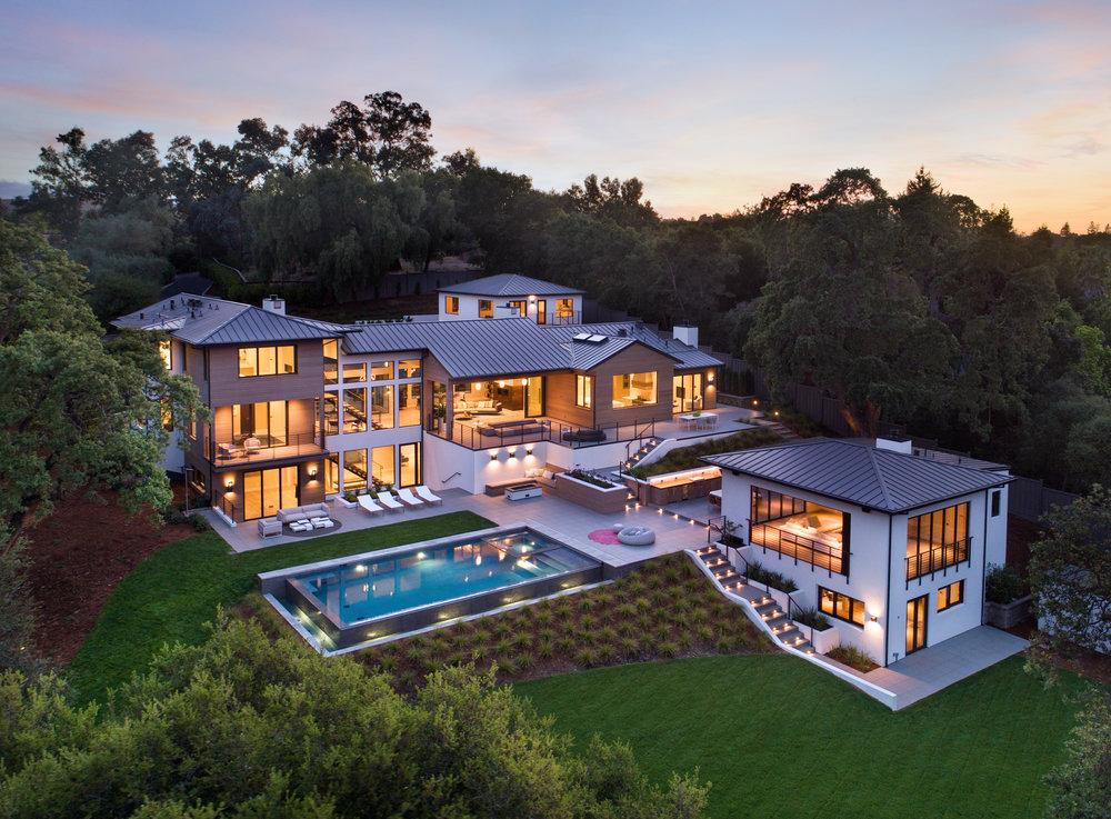 $19,500,000 | 4159 Old Adobe Rd., Palo Alto *