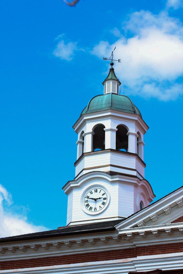 Loudoun County Court House clock tower