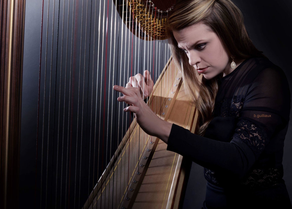 Grace Browning, Harpist