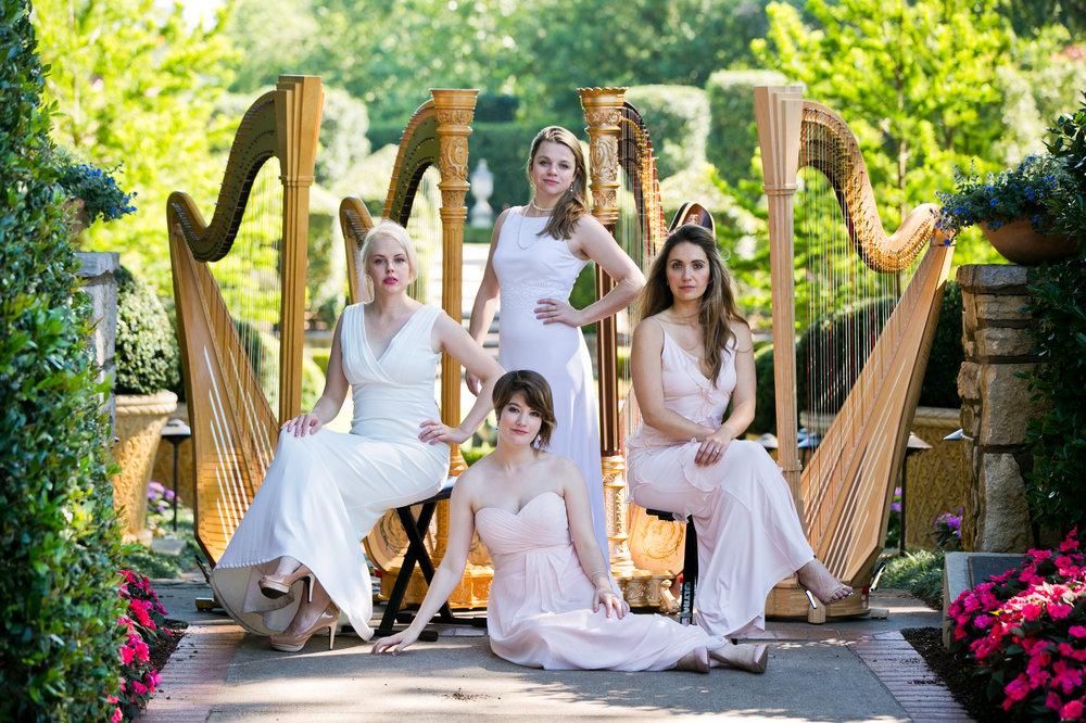 2017: The Dallas Harp Quartet
