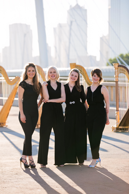 The Dallas Harp Quartet