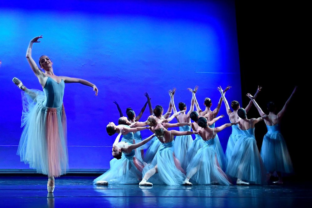 """Serenade"" choreographed by George Balanchine © The George Balanchine Trust"