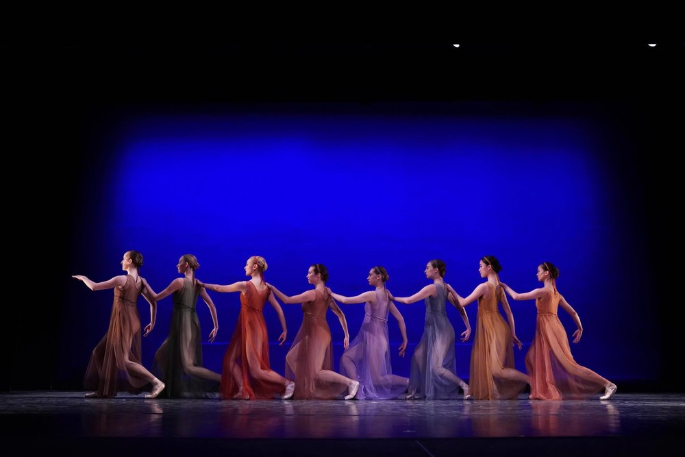 """Antique Epigraphs"" choreographed by Jerome Robbins © The Jerome Robbins Foundation"