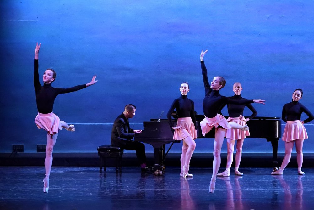 """5+Bach"" choreographed by Michele Wiles"