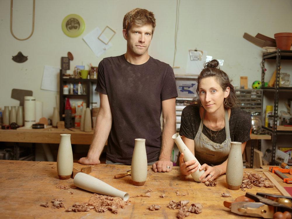 Jason McCloskey and Trystin Sova - image credit Matthew Staver