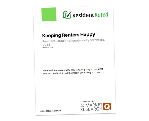 Resident Rated Survey