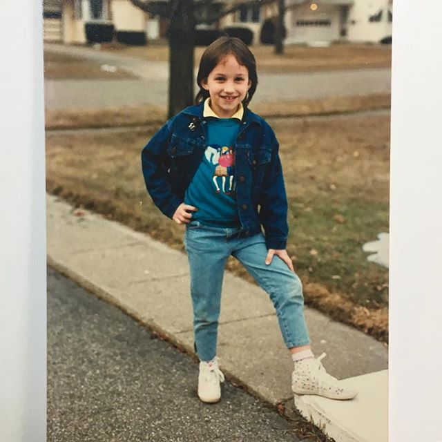 Proud Midwest tomboy circa 1987...😎 #michigankid #midwestforever #ootdinspo #thatjackettho #onlychildrenwillruletheworld